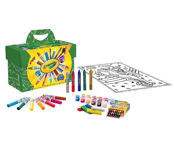 Set pinta y colorea crayola