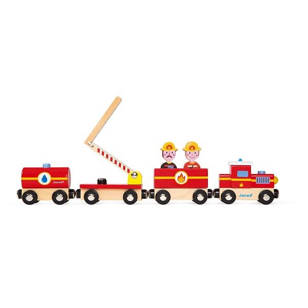 Story tren bomberos