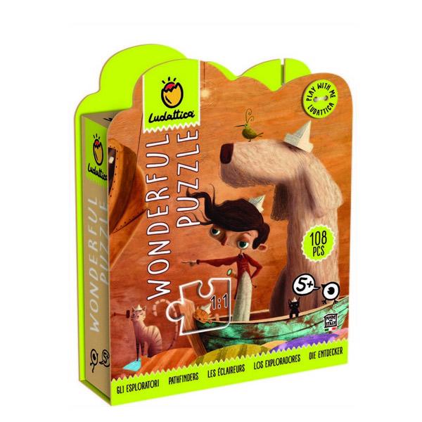 Wonderful puzzles exploradores