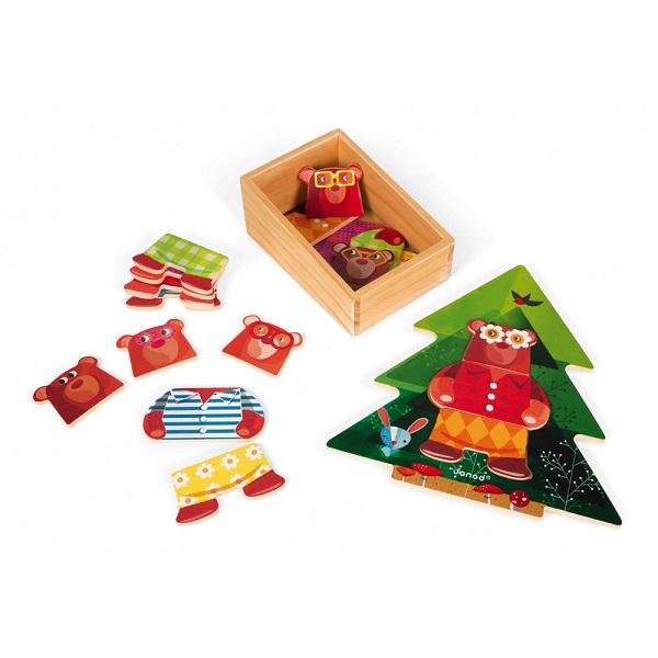 Puzzle de madera fiesta de pijamas
