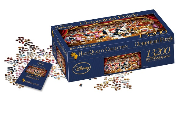 Puzzle 13200 piezas disney orquesta