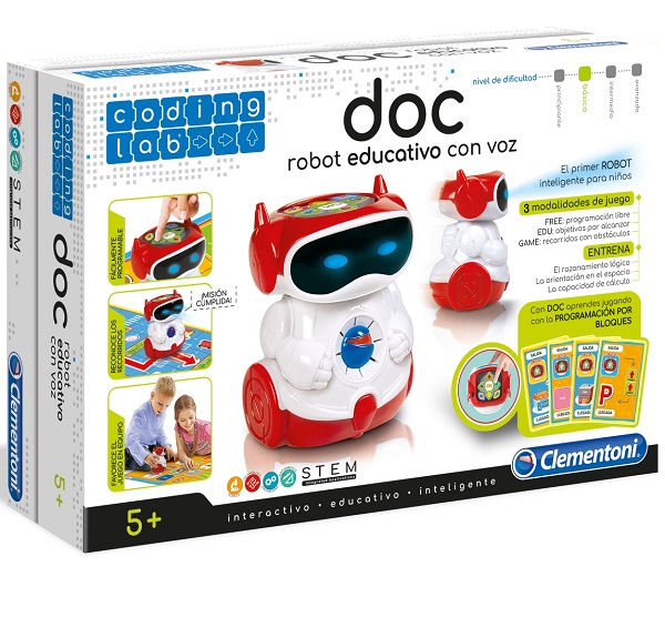 DOC robot educativo