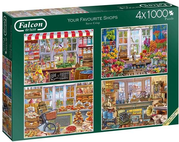 Puzzle 4 x 1000 tiendas
