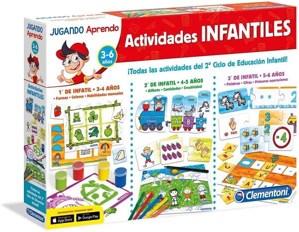 Jugando aprendo actividades infantiles