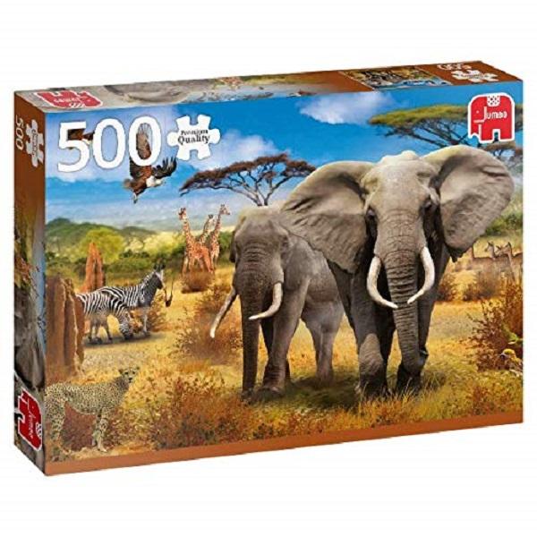Puzzle sabana africana 500