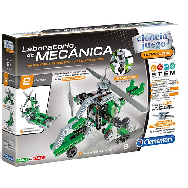 Laboratorio de mecanica helicóptero