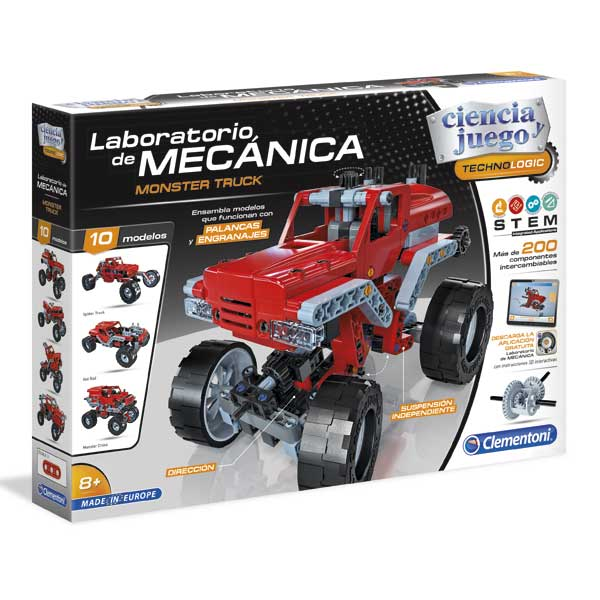 Laboratorio de mecánica monster truck