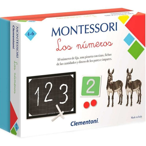 Montessori los numeros