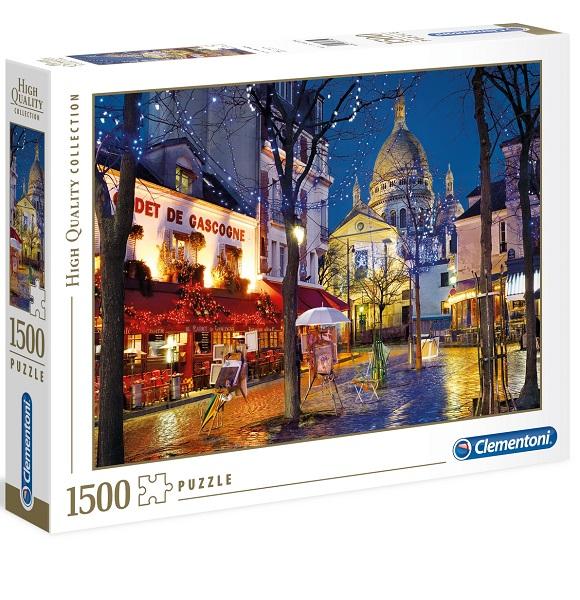 Puzzle paris montmartre 1500 piezas