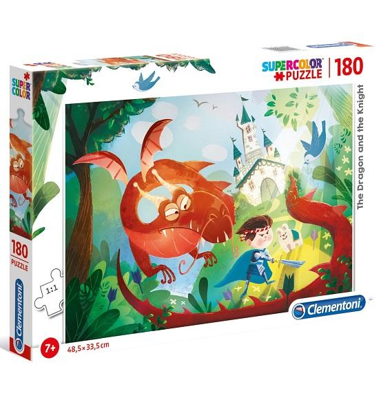 Puzzle 180 dragon y caballero