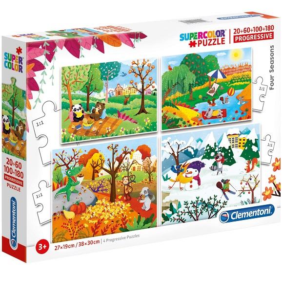 Puzzles infantiles 20 a 180 piezas