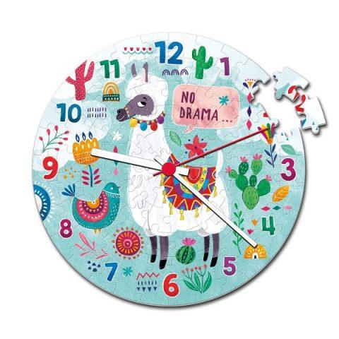 Puzzle reloj llama