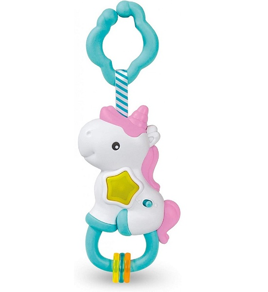 Sonajero musical unicornio
