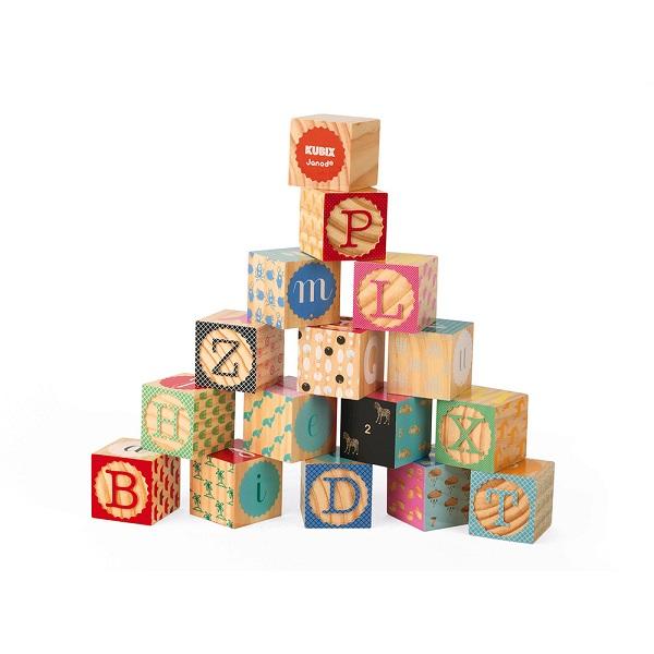Kubix 16 cubos alfabeto