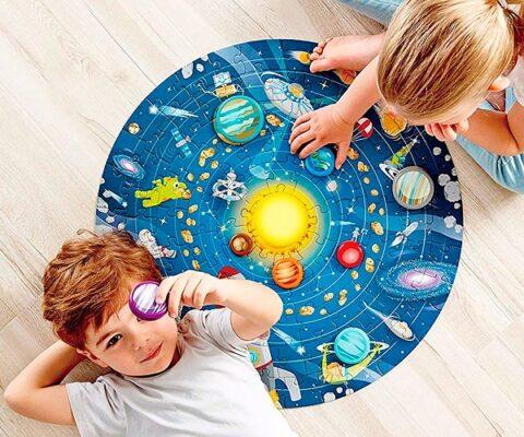 Puzzle sistema solar Hape
