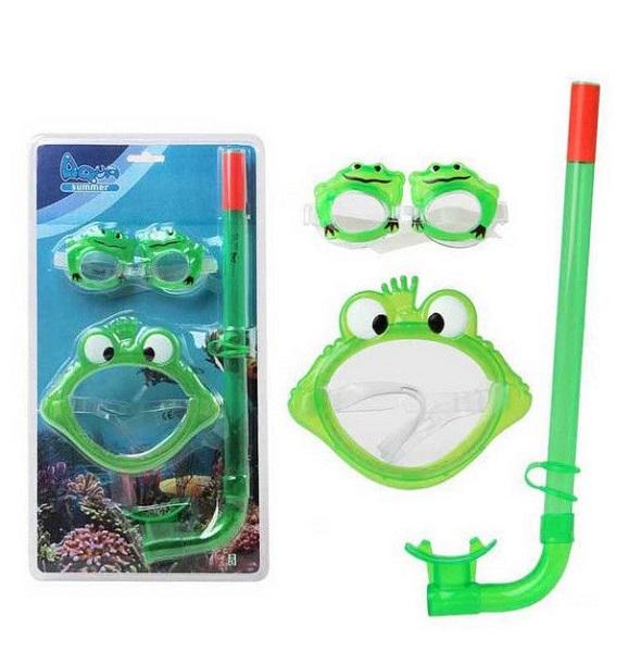 Gafas de buceo infantil rana