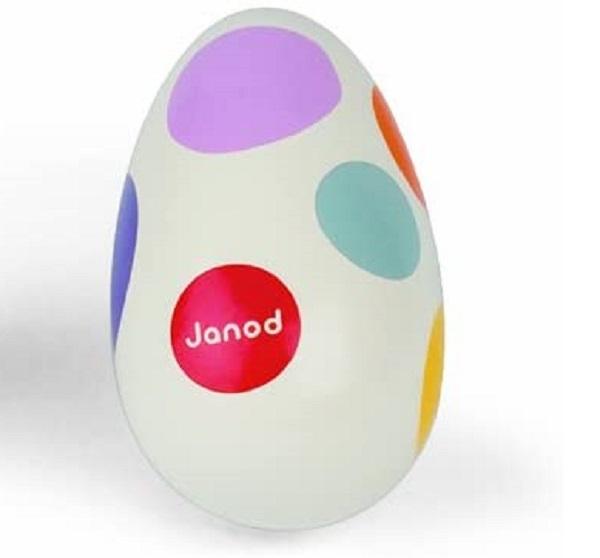 Maraca huevo Janod