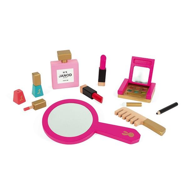 Neceser de maquillaje de madera