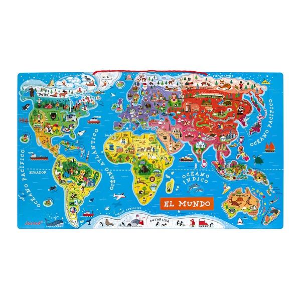 Atlas del mundo magnetico Janod