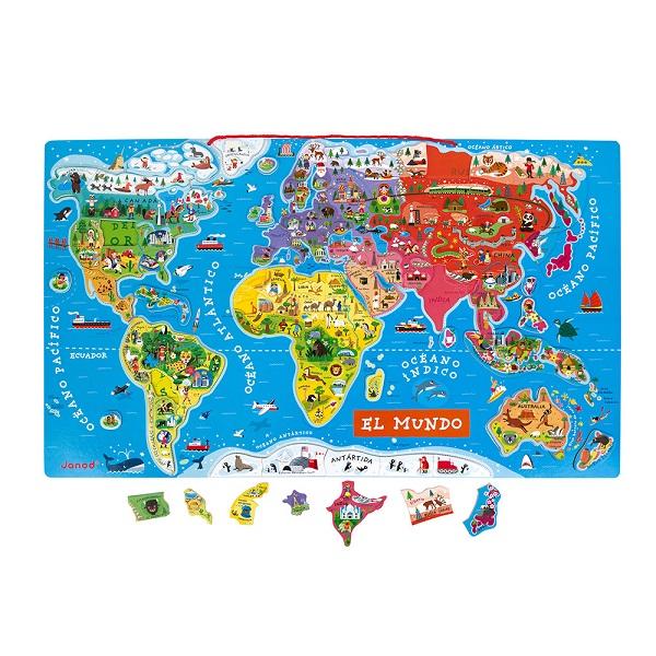 Atlas mundial magnético