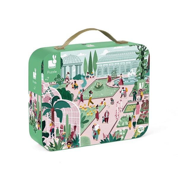 Puzzle maletin jardin botanico
