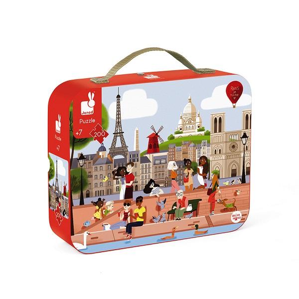 Puzzle maletin Paris Janod
