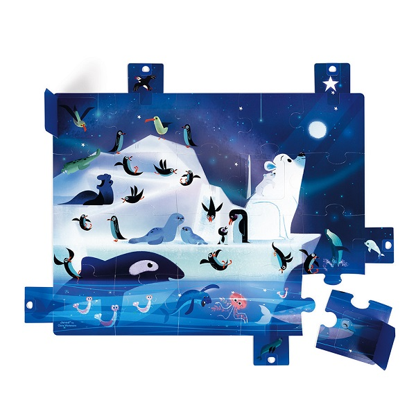 Puzzle sorpresa bajo las estrellas Janod