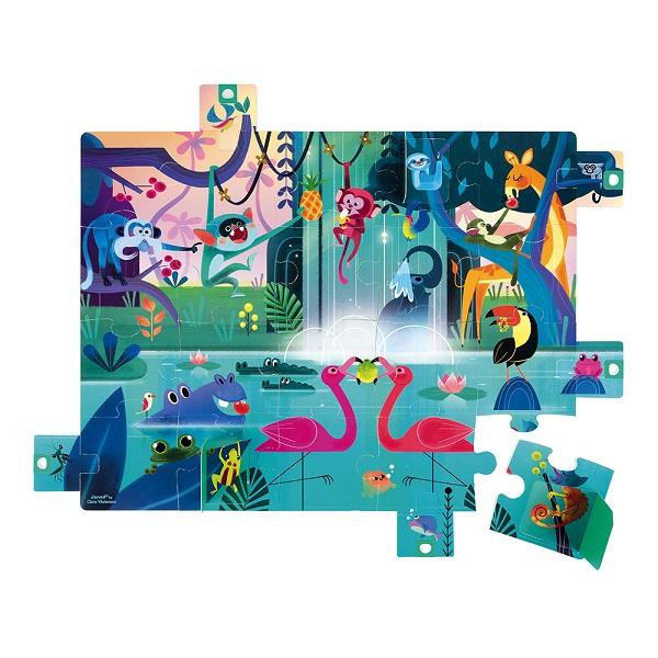 Puzzle sorpresa selva Janod
