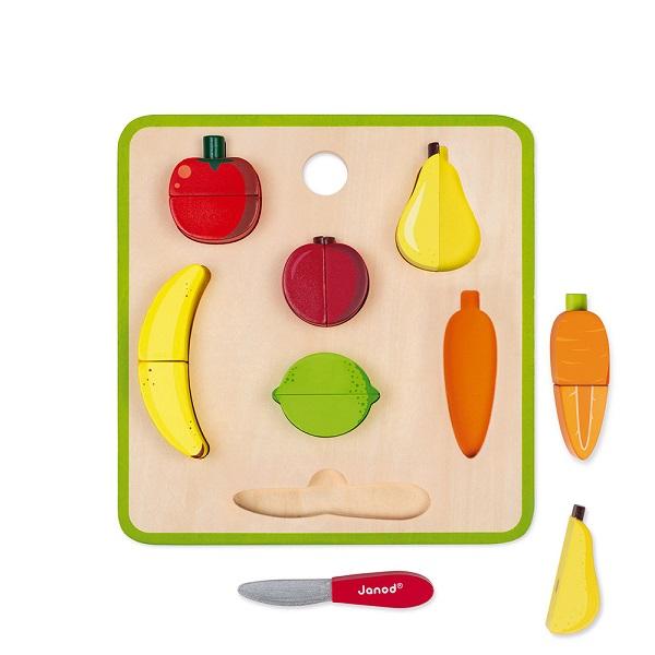 Tabla de frutas para cortar Janod