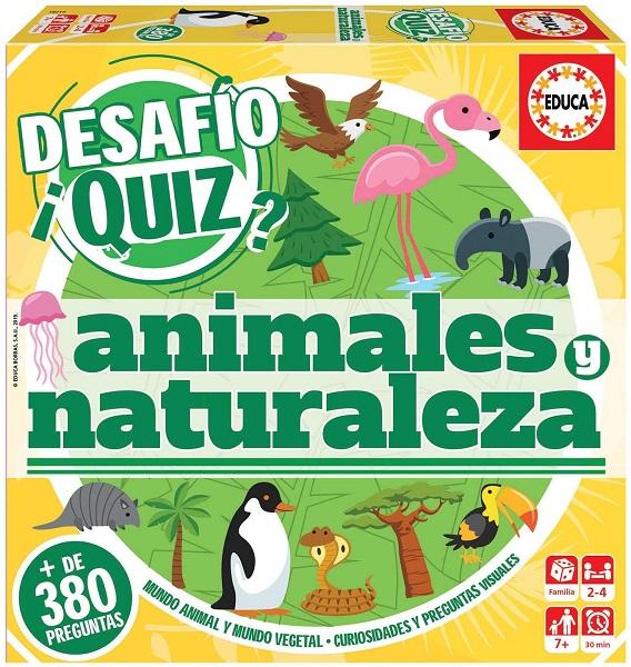 Desafio quiz animales