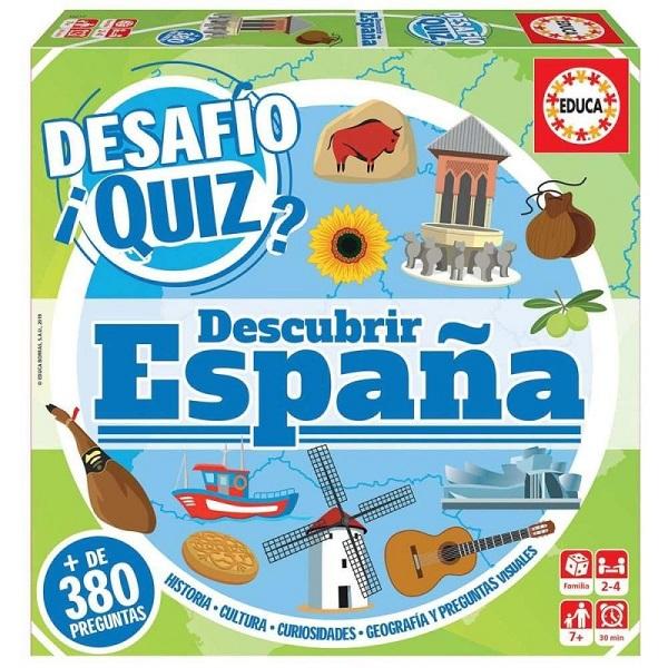 Desafio quiz Espana