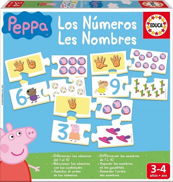 Aprendo los numeros Peppa Pig