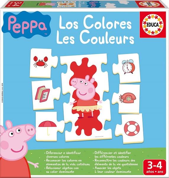 Aprendo los colores Peppa Pig