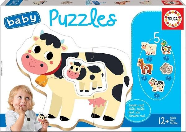 Baby puzzle granja Educa