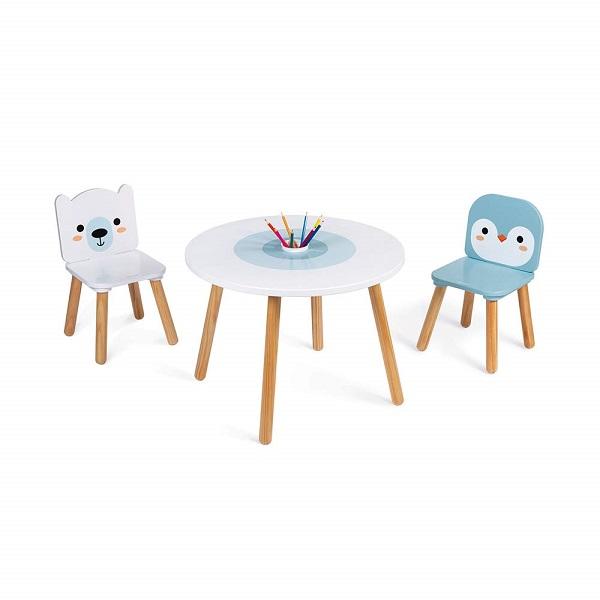 Mesa y 2 sillas Janod