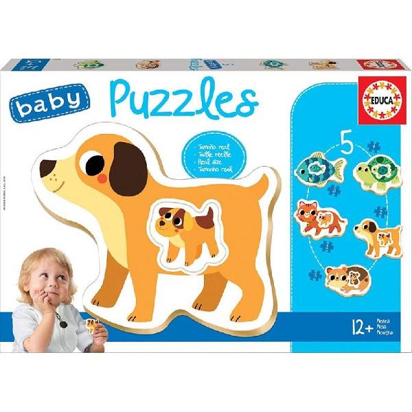 Baby puzzles animales Educa