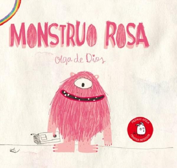 Libro monstruo rosa