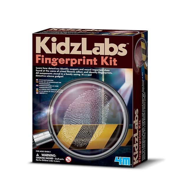 Kidzlabs kit de huellas