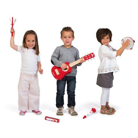 La musica y los niños