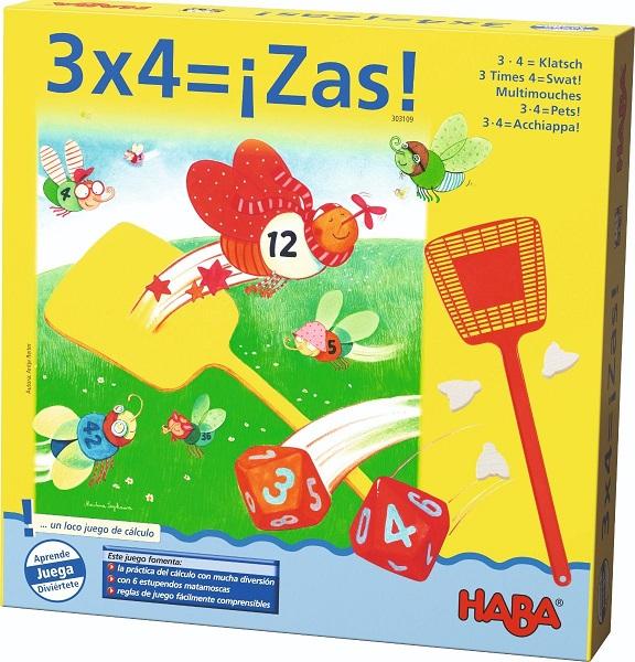 3x4 zas juego de Haba