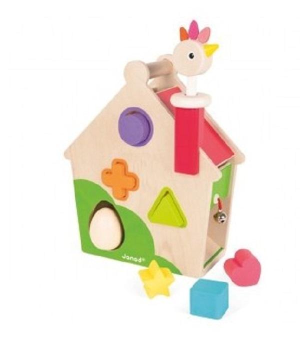 Casa de actividades gallinita Janod