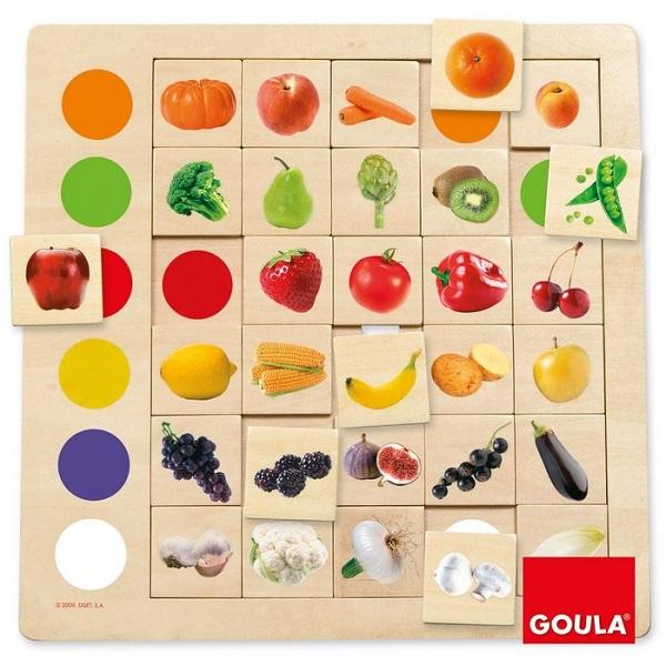 Juego de observacion colores Goula