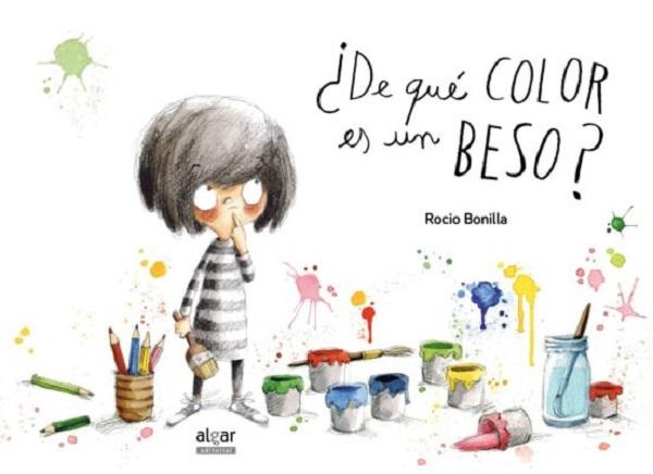 Libro de que color es un beso