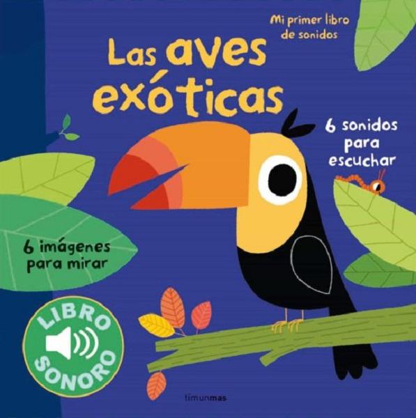 Libro sonoro aves exoticas