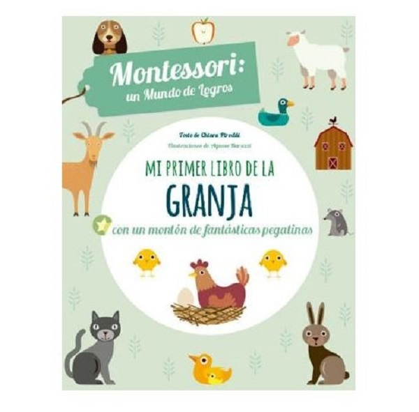 Montessori mi primer libro de la granja