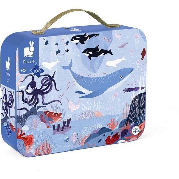 Puzzle maletin oceano artico Janod