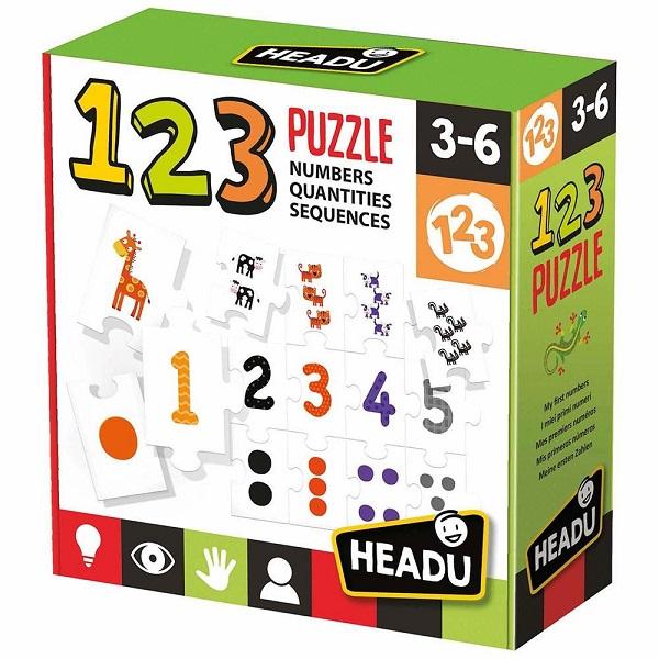 Headu 123 numeros y cantidades
