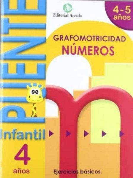 Cuaderno grafomotricidad numeros