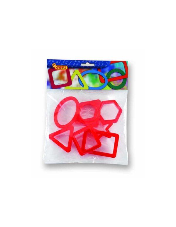Moldes plastilina formas geometricas