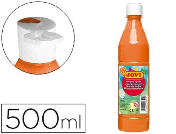 Tempera liquida naranja